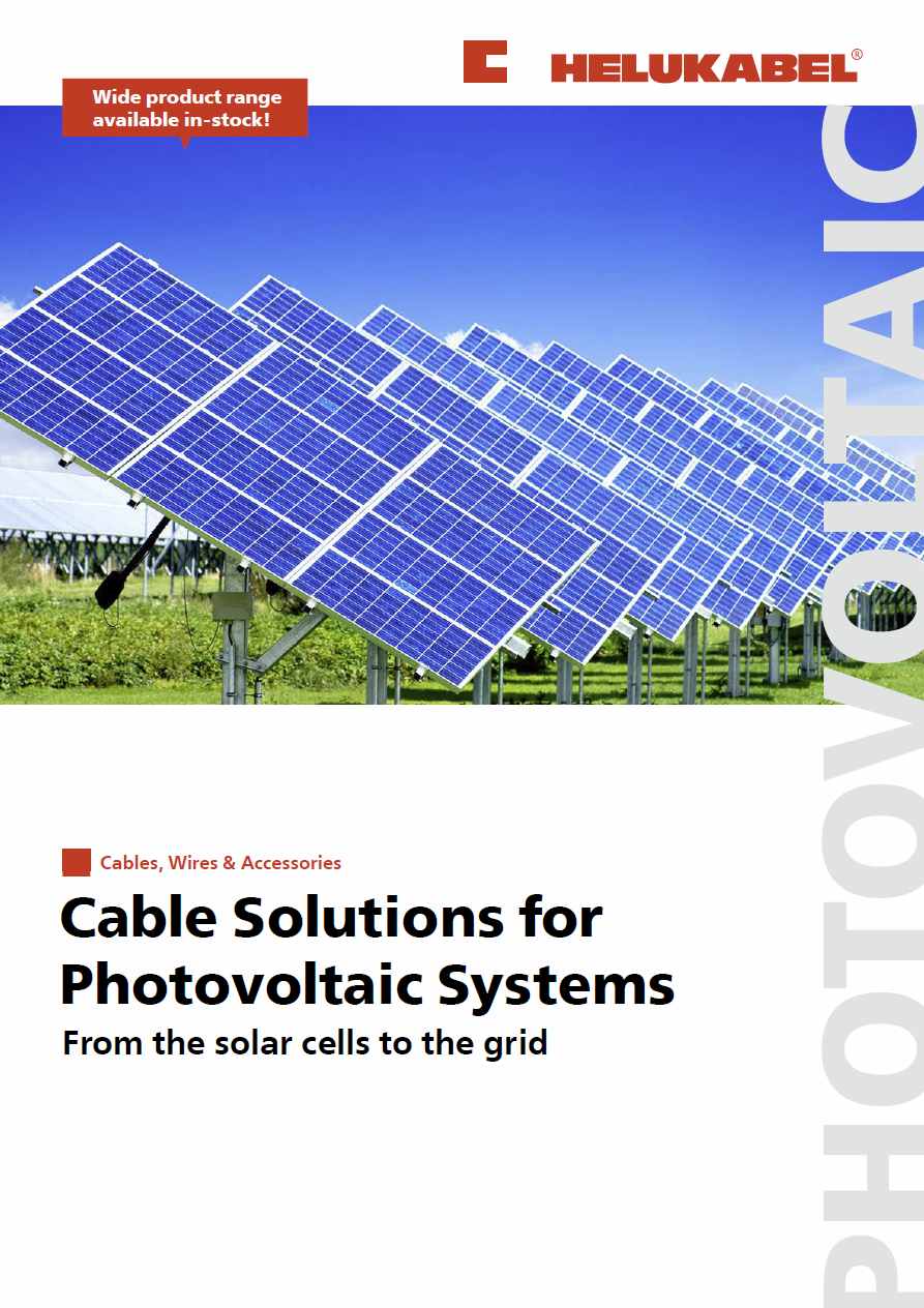 Helukabel Publication Order Solar Panel With Corrugated Thin Film Cells On Wiring Panels In Pdf 761 Kb